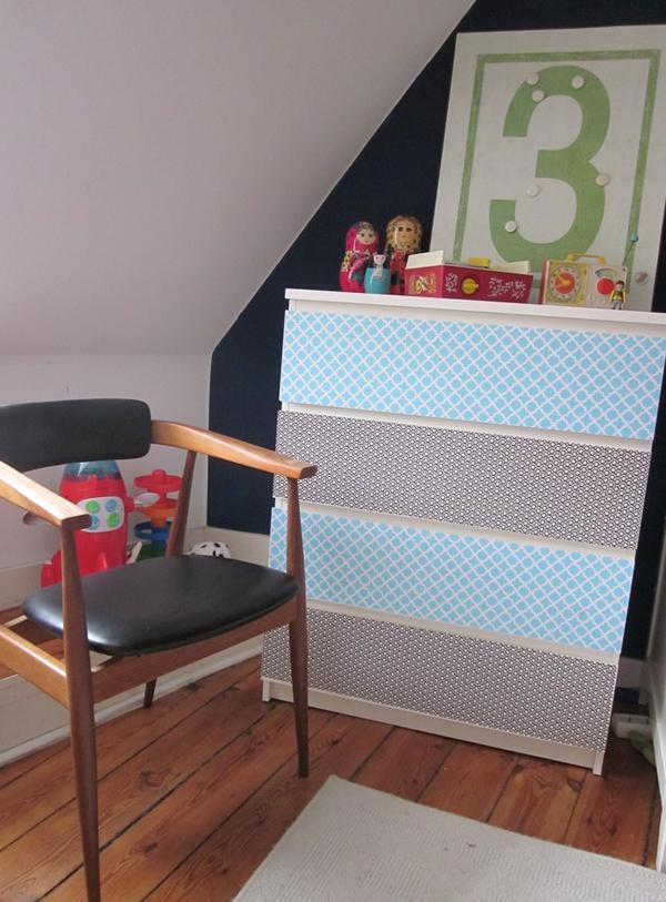 Nuevo aire a la cómoda Malm de Ikea | Estilo Escandinavo | IKEA ...