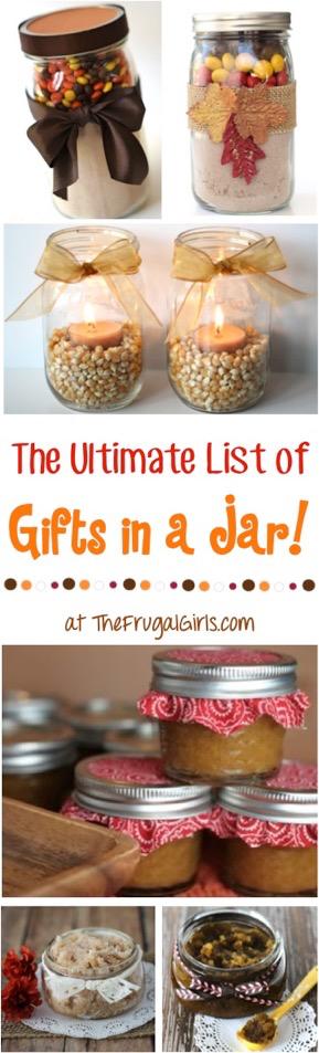 Iexcl 101 regalos en un tarro de recetas Divertido Gif Casero Mason Jar