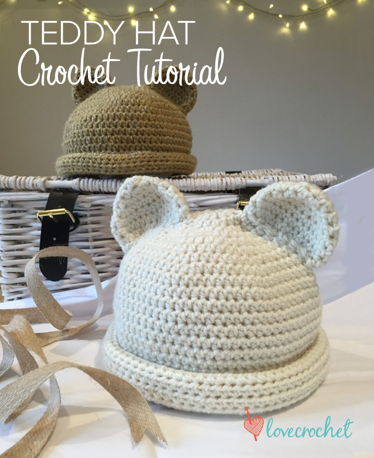 Crochet Polar Bear Hat Pattern - Repeat Crafter Me | 900x735