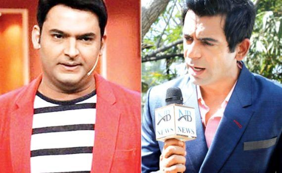 sunil grover and kapil sharma! truth behind the fight !