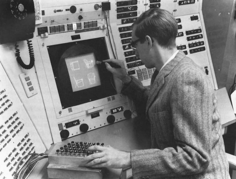MIT Sketchpad Project, 1963