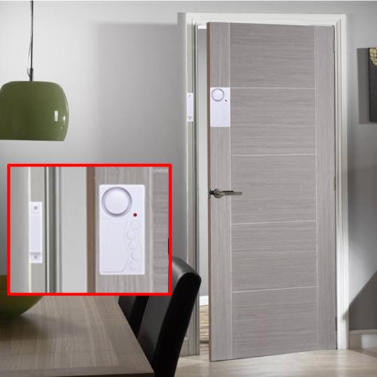 Magnasecure Wireless Door Alarm Door Alarms Locker Storage Alarm