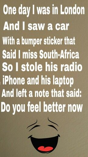 Hahaha Funny South African People Would Know South Africa