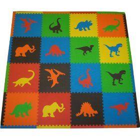 Tadpoles Dino Playmat Set Play Mat Foam Mat For Children Playmats Floor Mats Foam Mat Foam Puzzle Mat Baby Puzzle Dinosaur Room Kids Rugs Kids Playmat