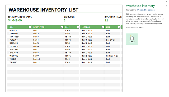 Makeuseof An Excel Template For Every Occasion 1181f435 Resumesample Resumefor Payroll Template Excel Templates Inventory Management Templates