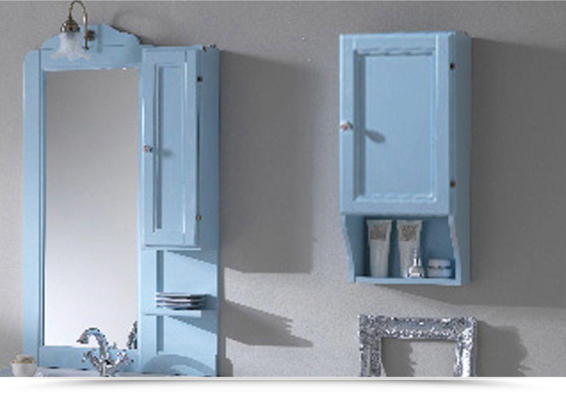 Bagno Shabby Chic Azzurro : Pensile dx azzurro cm 33 anta legno 507498.jpg 1140×800 bagno in