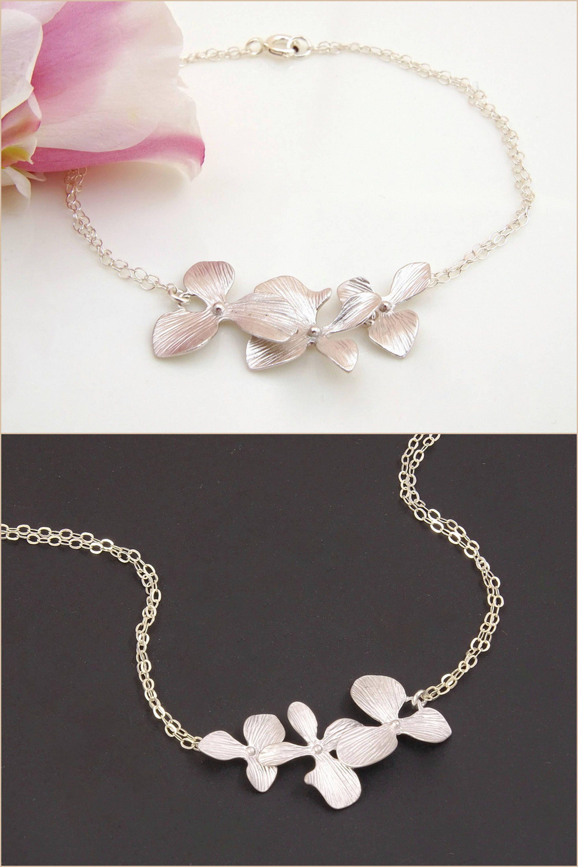 Flower Bracelet Unique Bracelet For Women Bracelet In Silver Chic