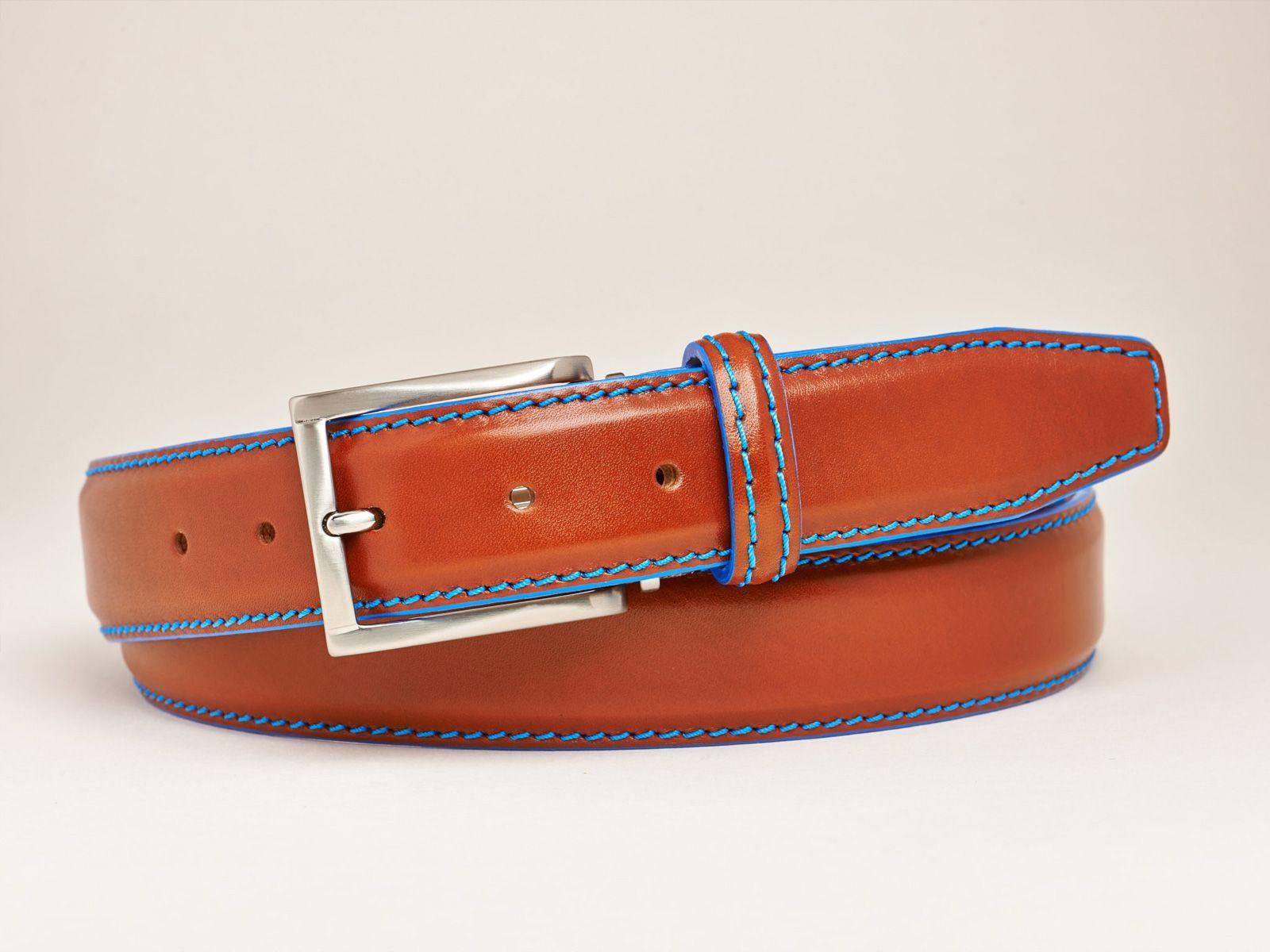 de8c9577771b2 Handgemachter Manufaktur-Ledergürtel von Roger Ximenez    Handmade Leather  Belt by Roger Ximenez