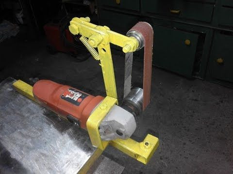 Bench Grinder Belt Sander Conversion