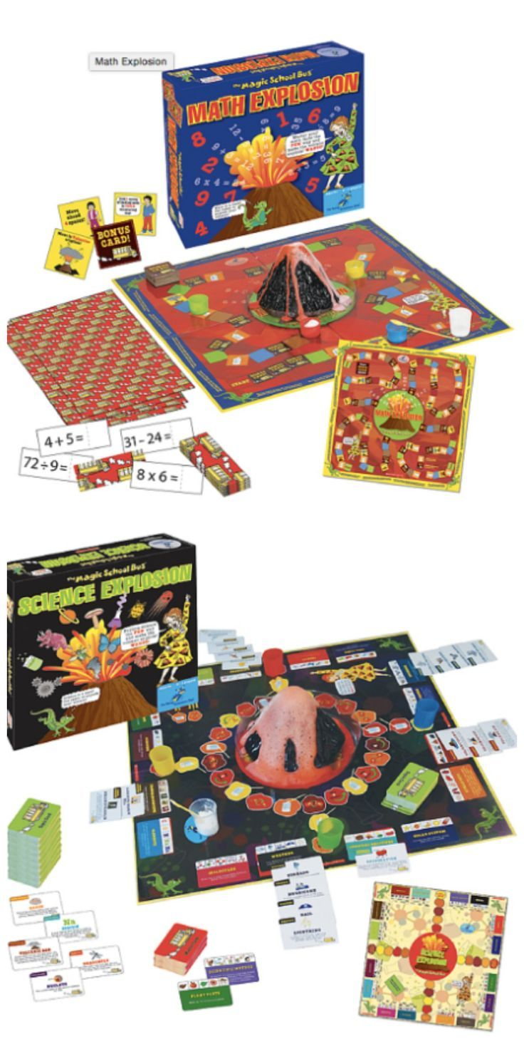 Magic School Bus Games-Math & Science Explosions! from sponsor @educents (plus use coupon code FHDeals10 for 10% off!!)