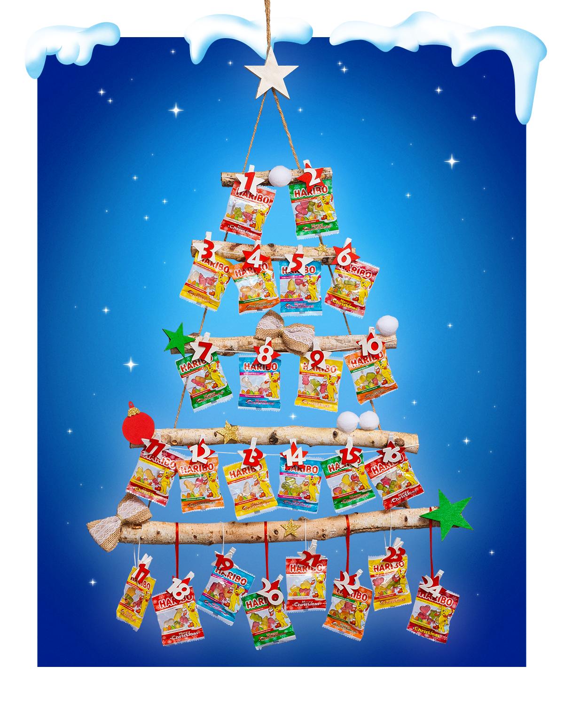 Haribo Weihnachten.Der Haribo Diy Adventskalender Haribo Und Weihnachten