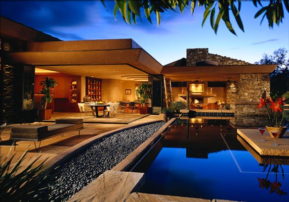 Adobe Houses | Tags Adobe Style Homes Custom Built Homes Modern Home Modern  Home .. Beautiful PoolsPool ...