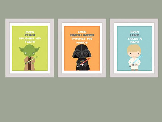 Stars Wars Bathroom Rules Wall Art Star Wars Set Of 3 Printable Instant Download 8x10 Bathroom Star Wars Wall Art Bathroom Rules Wall Art Star Wars Bathroom