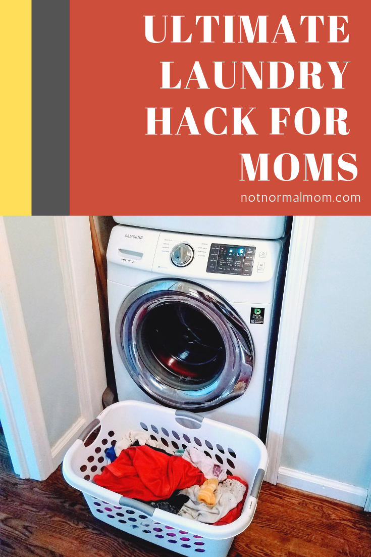 A Surprisingly Simple Laundry Hack for Busy Moms | Not