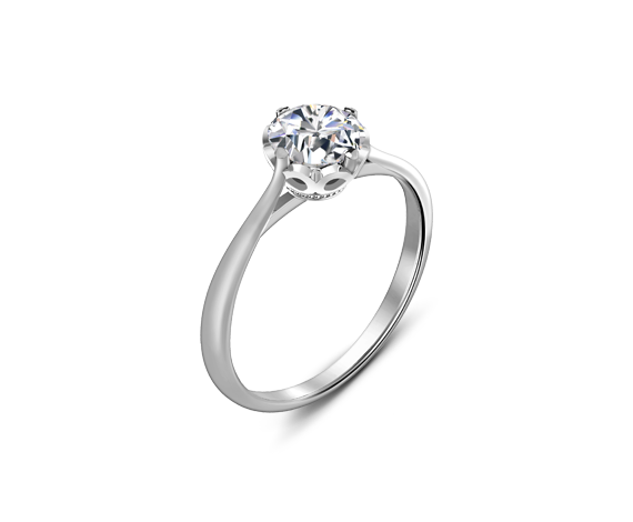5c2699e2e953c Lee Hwa Jewellery - FOREVERMARK ENDLEA™ PLAIN RING | R I N G S ...