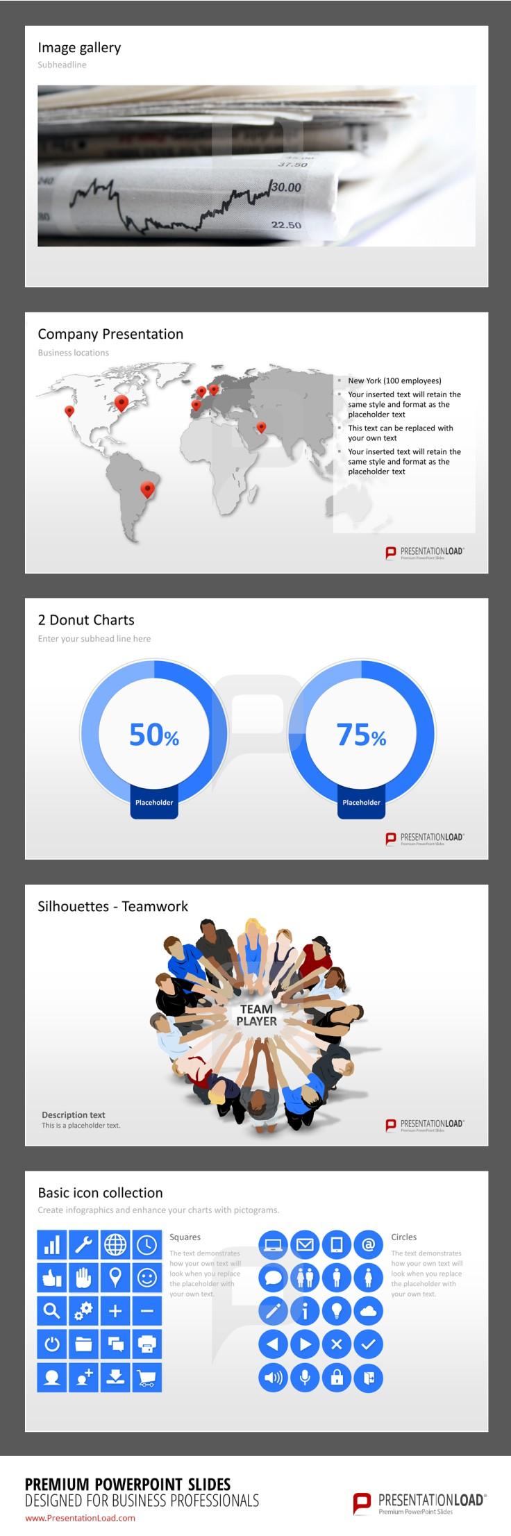 Kostenlose powerPoint Vorlagen von PresentationLoad http://www ...