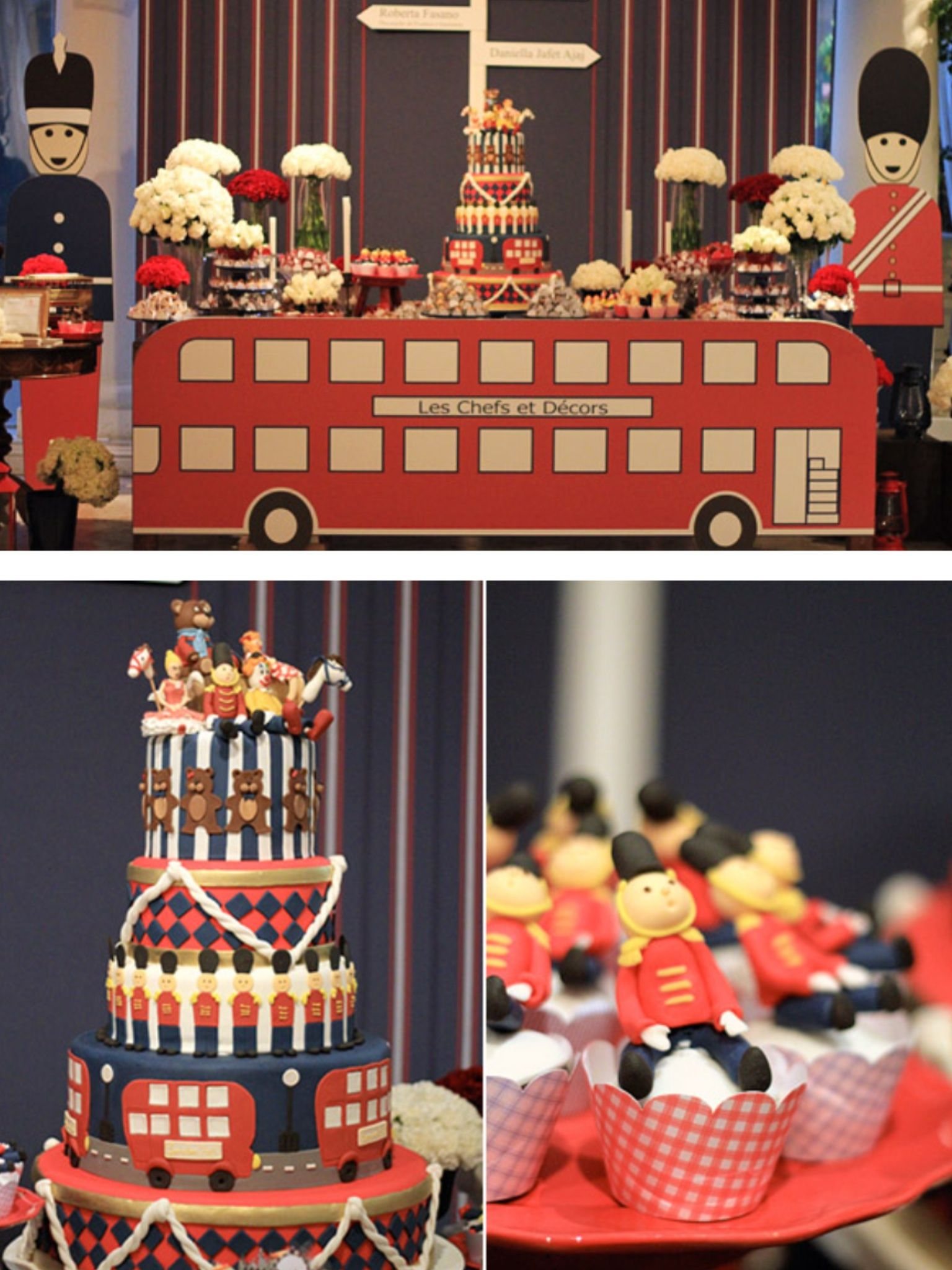 Pin By Rebeca Rodriguez Organizadora On Children S Party London Theme Parties British Party London Party