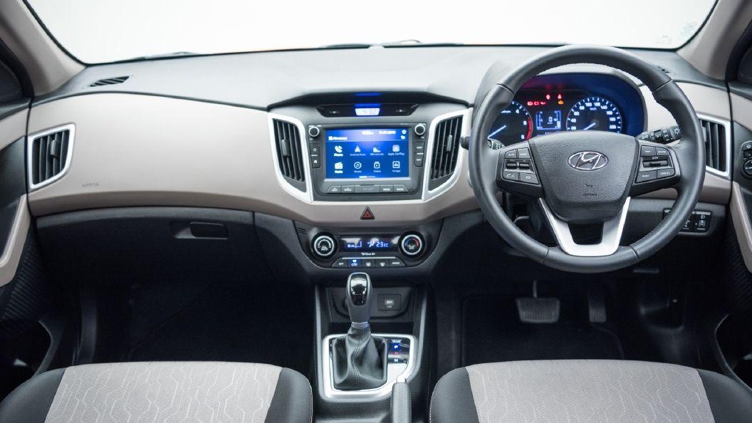 Top Interior Design Hyundai Creta Top Model Interior Images Suv Accessories Best Suv Hyundai