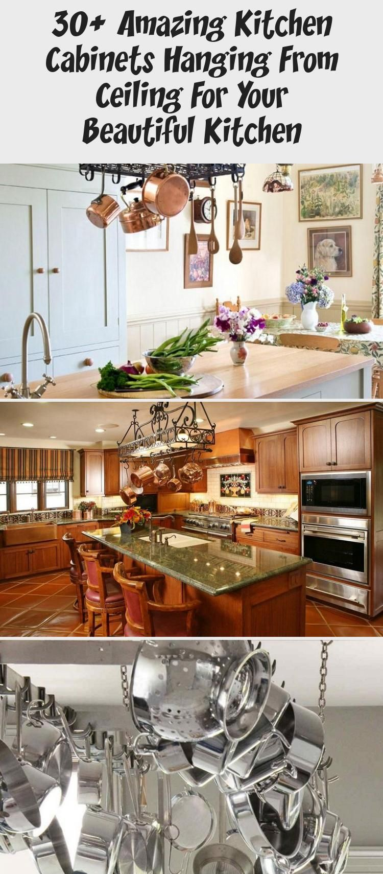 30+ Amazing Kitchen Cabinets Hanging From Ceiling For Your ...