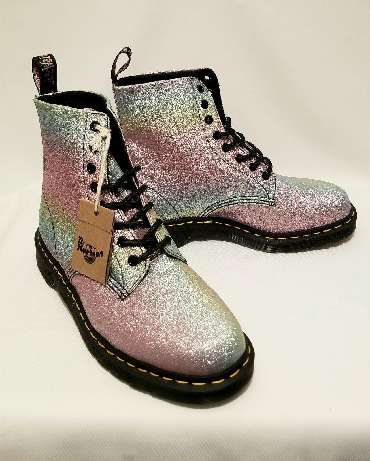 Nwt Dr.Martens Pascal Glitter wmn boot sz 11 | Boots