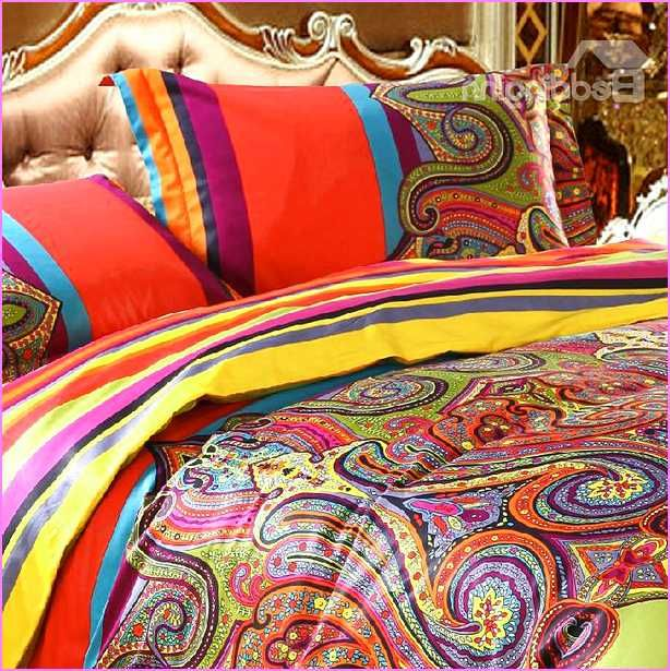 moroccan org exotic april bedding txceds style brown blue set full western cotton stripe queen red and sets comforter print size page be damask vintage tribal chic