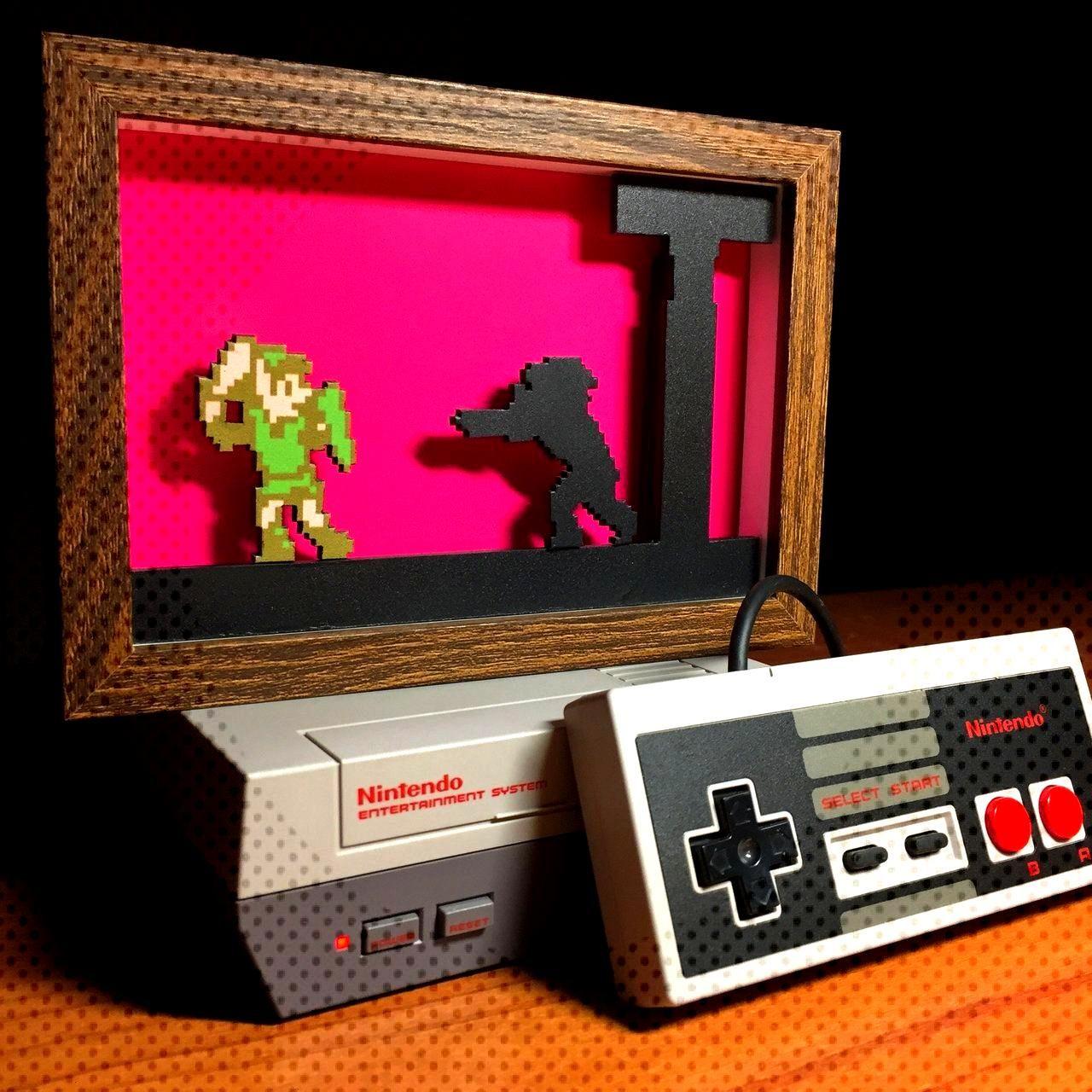 Nintendo Shadowboxes made bychimo55jimbo -