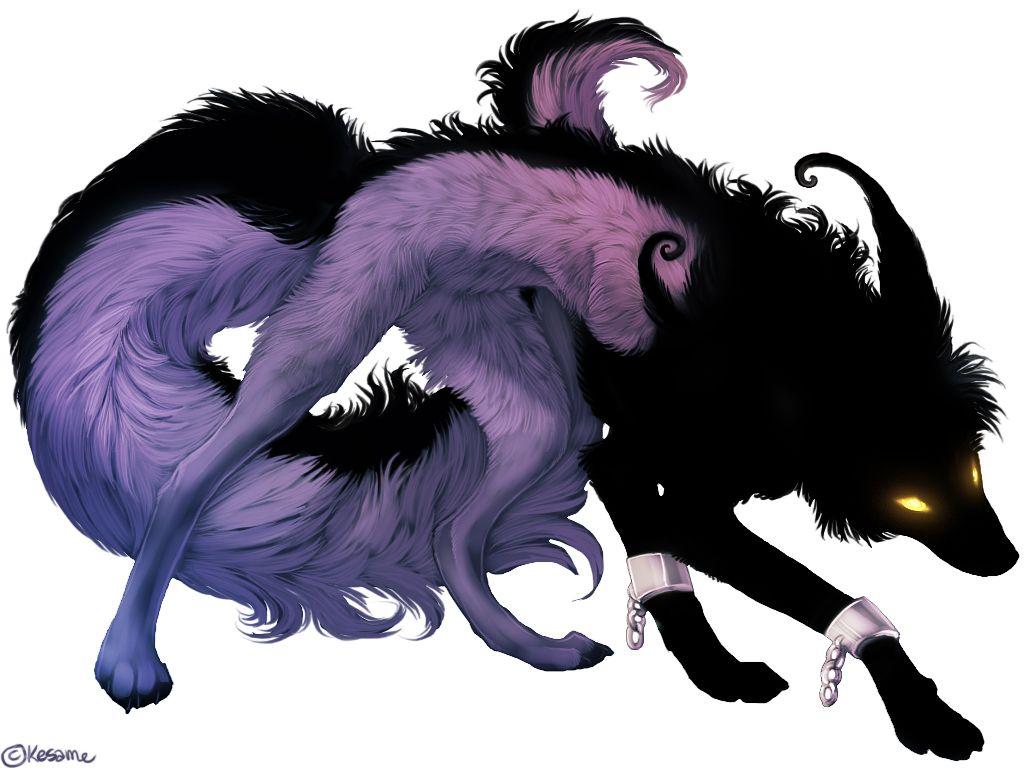 Аниме картинки демонов животных