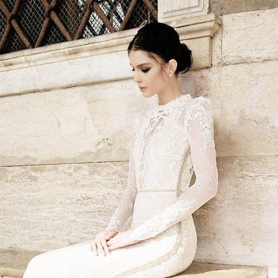 source : bellethemagazine.com  (inbal dror 20I5 bridal white dress) fashion