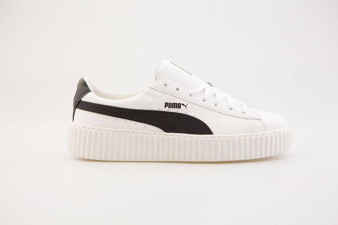 super popular 8b079 780e0 puma creeper white and black knight