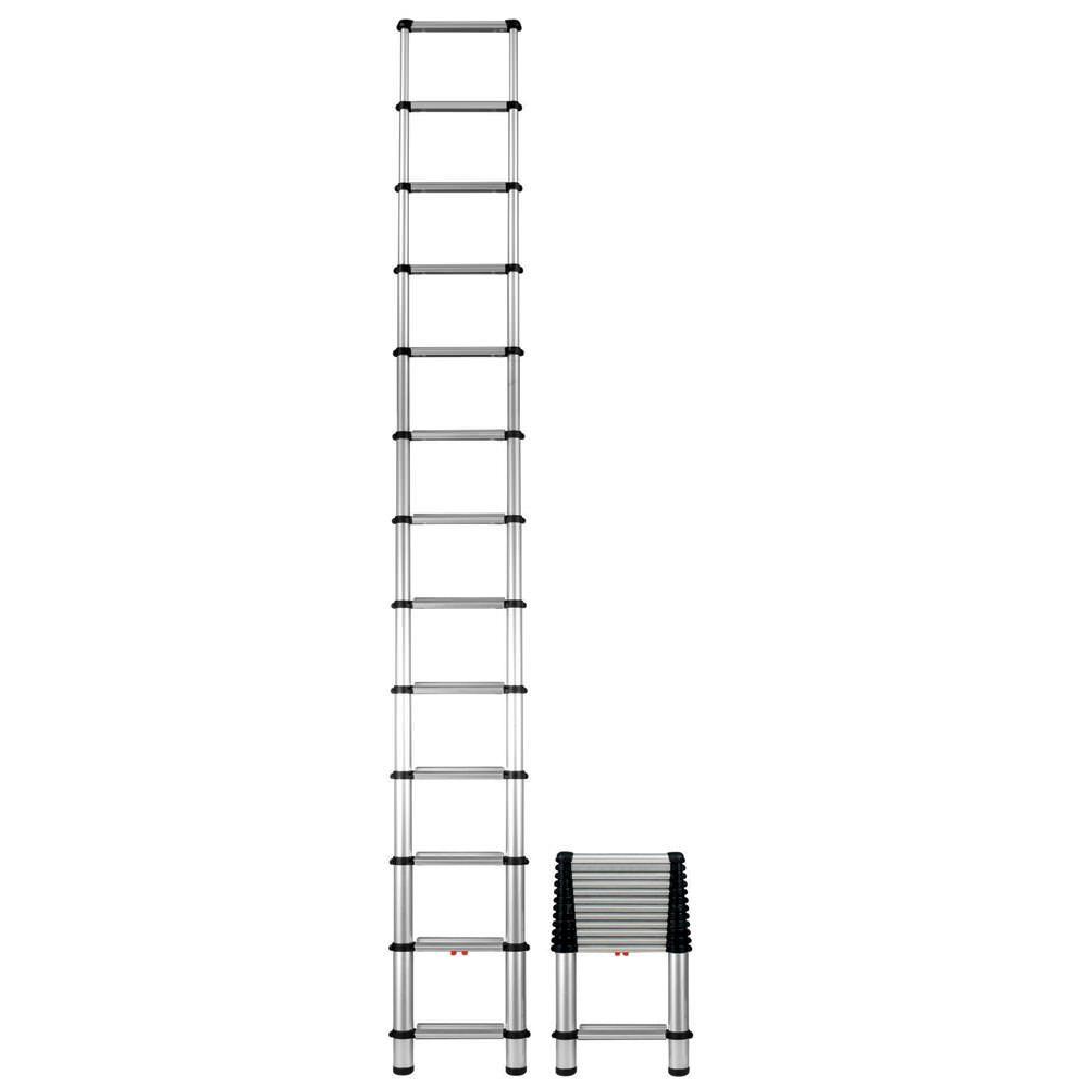 10 5 Foot Telescoping Extension Ladder In 2020 Ladder Telesteps Aluminium Ladder