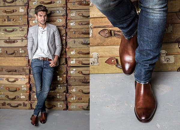 Chelsea Boot Brown Antique | Chelsea boots, Brown leather ...
