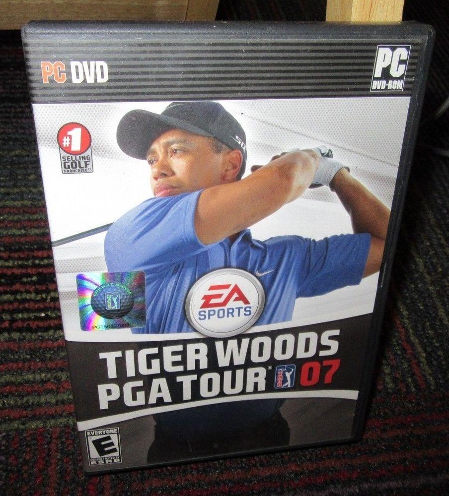 TIGER WOODS PGA TOUR 07 PC DVDROM GAME, EA SPORTS