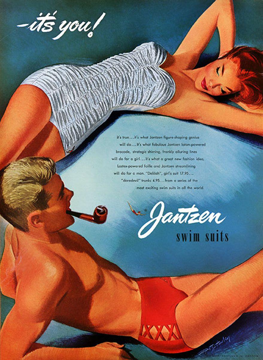 JANTZEN SWIMWEAR, 1950S