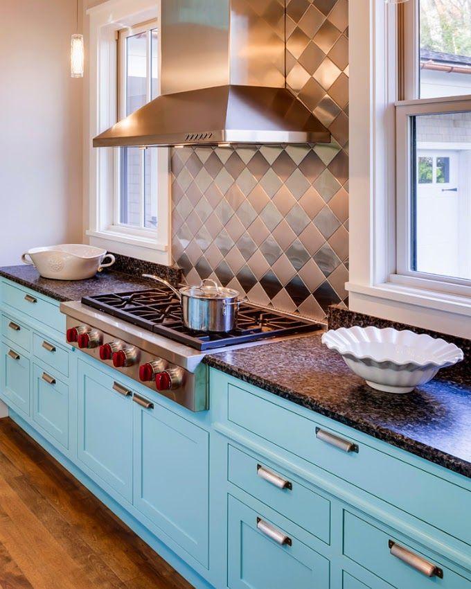 80 Cool Kitchen Cabinet Paint Color Ideas: House Design, Painting