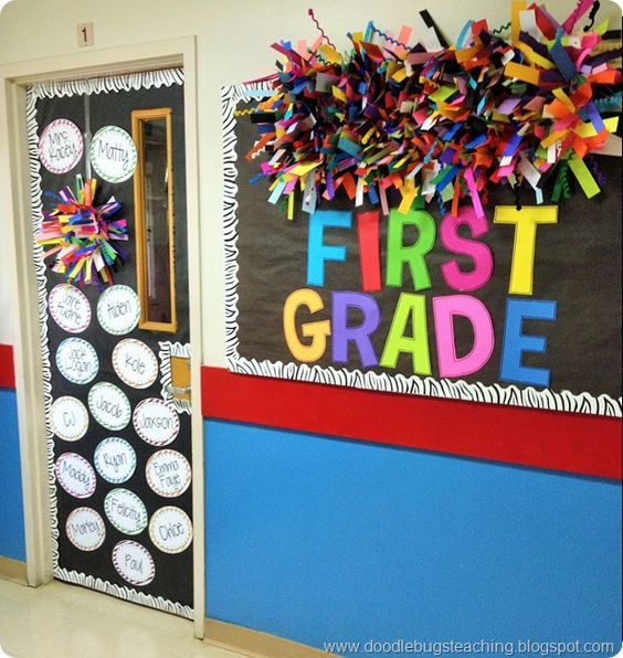 Back To School Bulletin Board And Door Decoration Colorful Rainbow