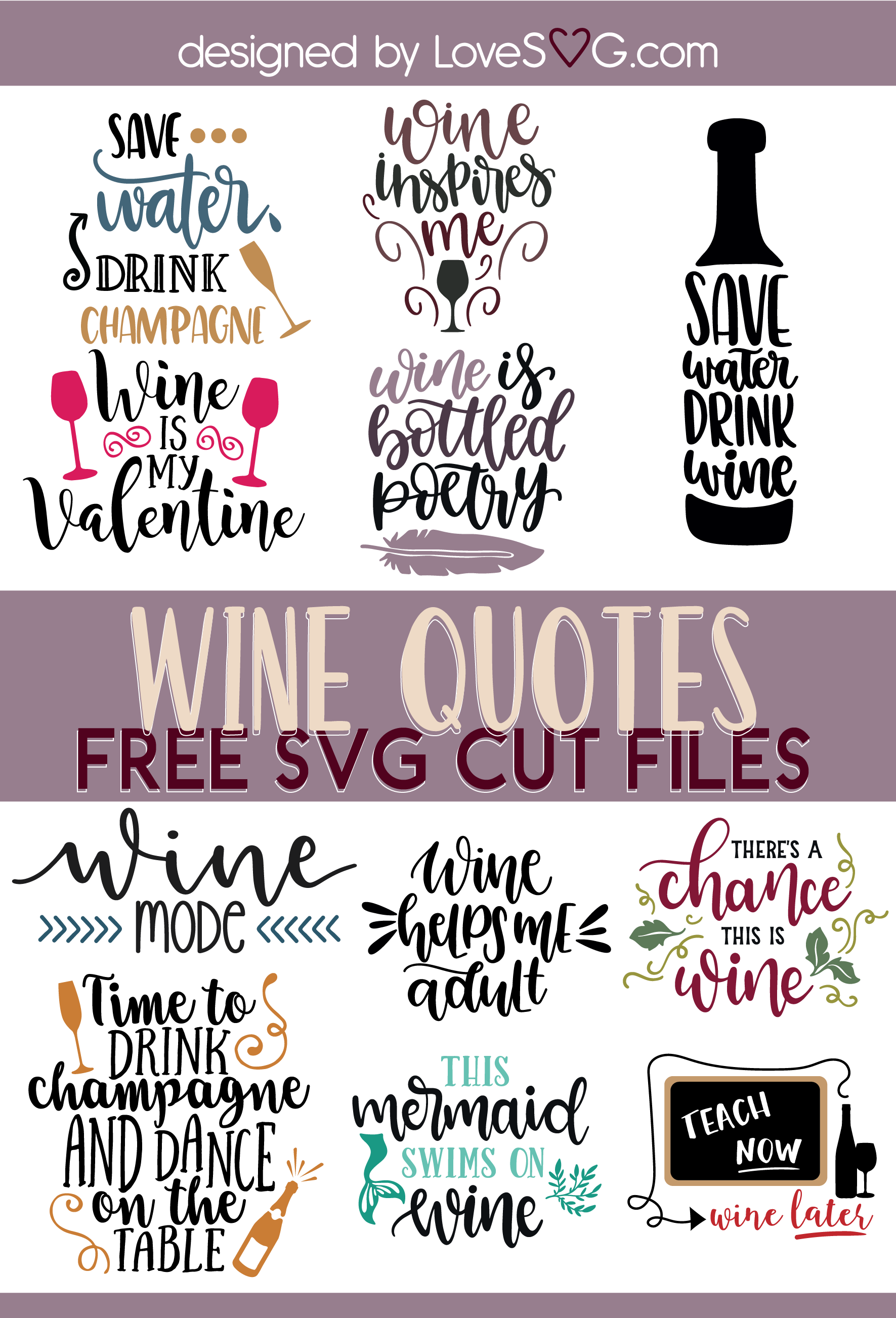 Free SVG Cut File for Cricut and Silhouette in SVG, PNG