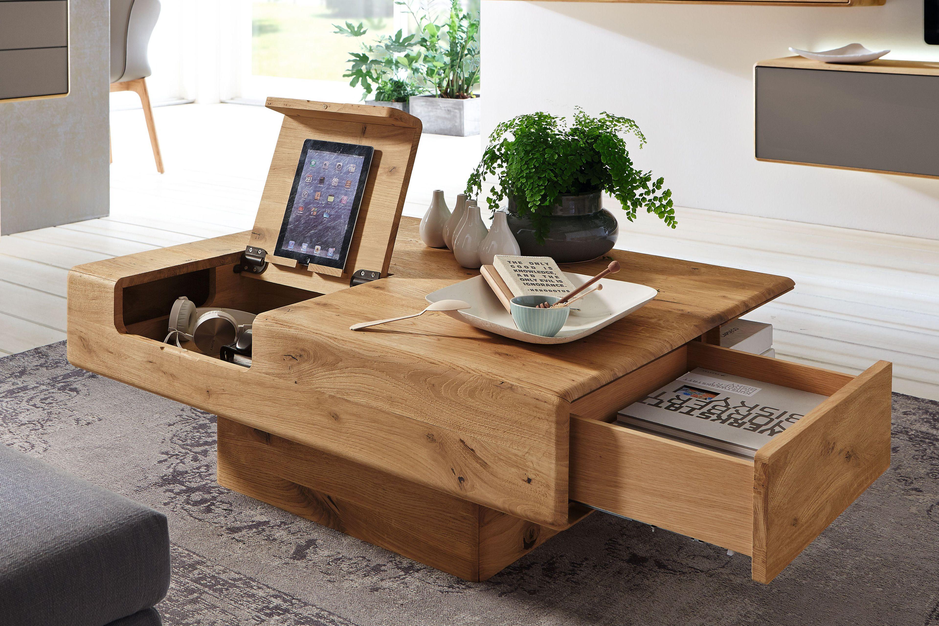sineo von w stmann couchtisch 9505 aus wildeiche zuk nftige projekte pinterest. Black Bedroom Furniture Sets. Home Design Ideas