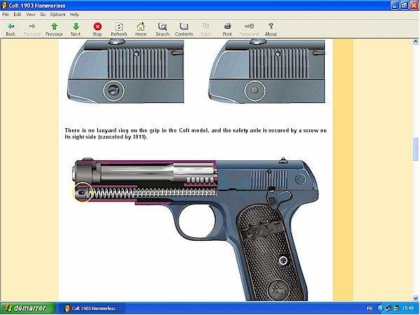 Colt 1903 1908 hammerless - Downloadable at HLebooks.com