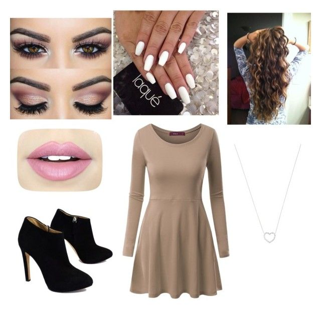 """It's cold outside❤️"" by morganbruton on Polyvore featuring Doublju, Giuseppe Zanotti, Tiffany & Co. and Fiebiger"