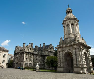 Trinity College, Dublin....Old Library was founded by Queen Elizabeth in 1592