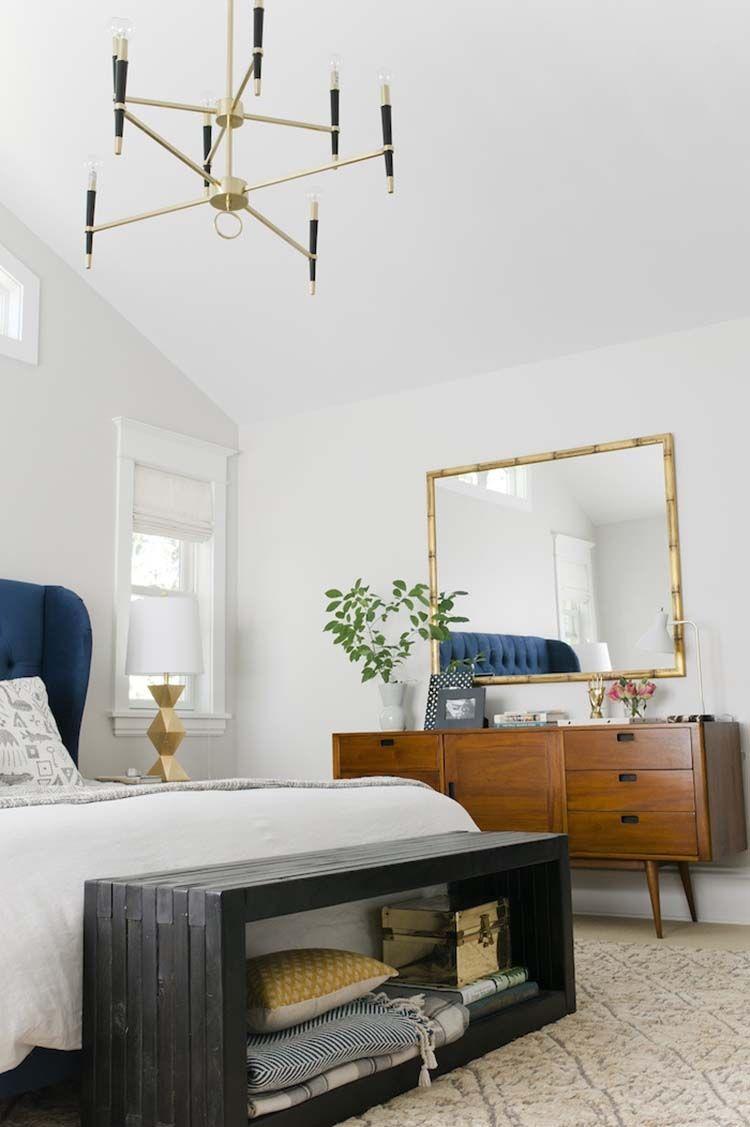 35 Wonderfully Stylish Mid Century Modern Bedrooms Mid Century
