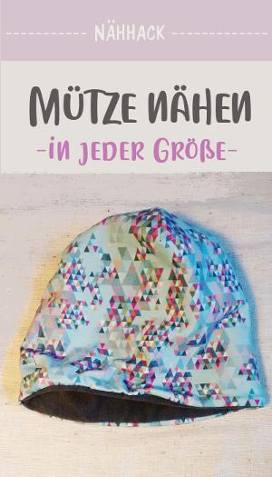 Photo of Eigene Mütze nähen – in allen Größen