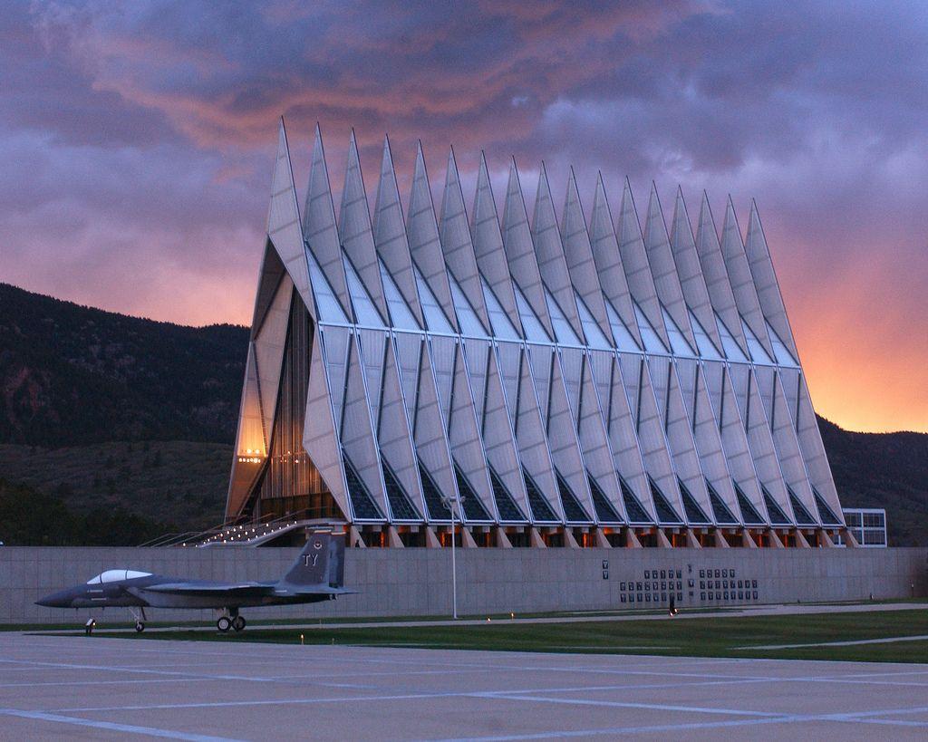 US Air Force Academy Cadet Chapel, Colorado Springs, CO