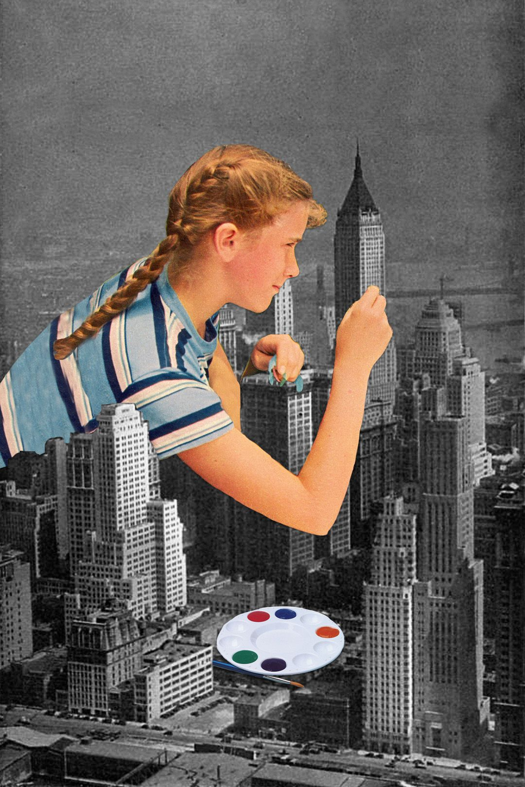 """Gouache Application"" by Eugenia Loli  Portfolio  
