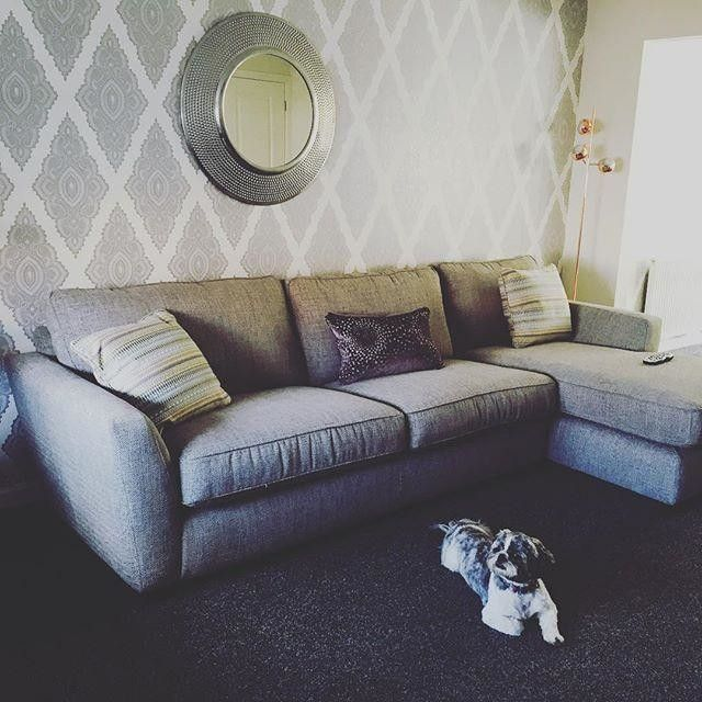 wholesale dealer 44d3b 5763b Max modelling next to my new #mydfs #sophia corner sofa (and ...