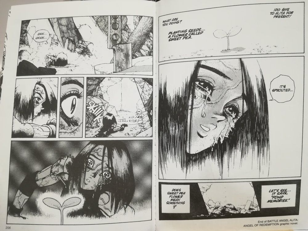 Alita Battle Angel Anime Ending Https Ift Tt 2p714ix Alita Battle Angel Manga Angel Manga Battle Angel Alita