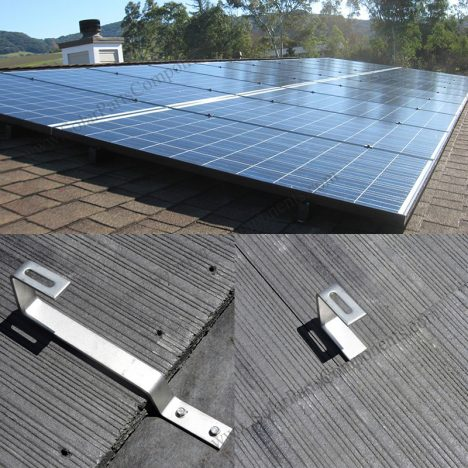 Flat Tile Roof Mounted For Solar Panels In 2020 Solar Panels Roof Solar Solar Panels