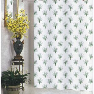 Extra Long Fabric Shower Curtain 84