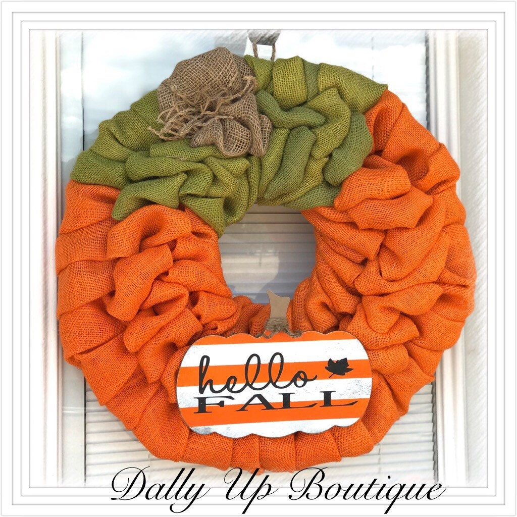Fall Decor Wreath Https://www.etsy.com/listing/615280130