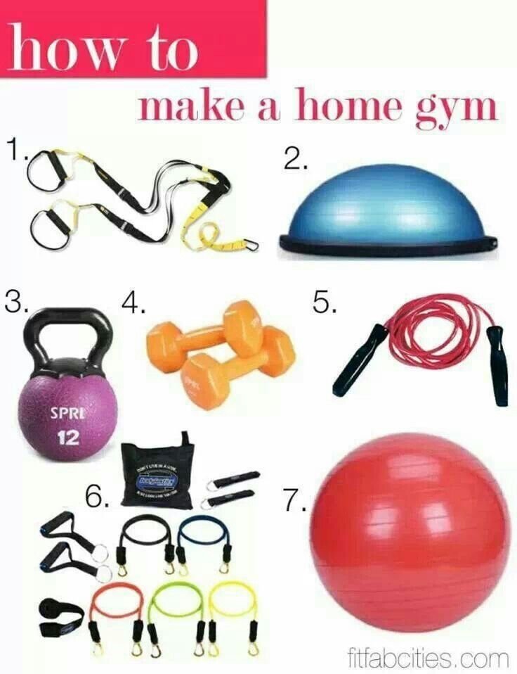 How to make a simple home gym love this garage house pinterest machines and workout